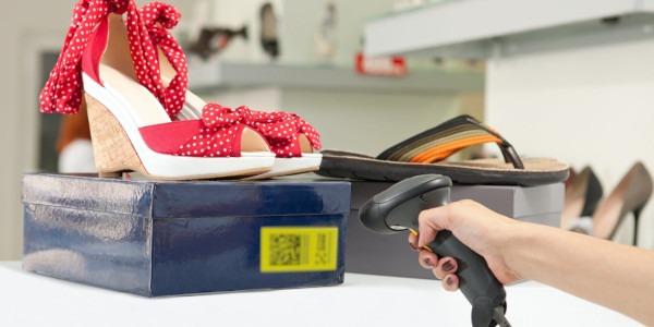 Маркировка обуви: сканирование кода